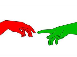 Italy Three - Creation of Adam by Asbjorn Lonvig