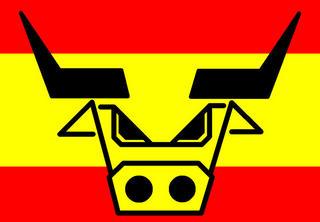 Spain Five - Spanish Bull by Asbjorn Lonvig