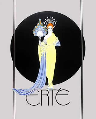 Athena by Erte