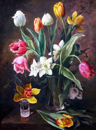 Tulips from Holland by Lubov LESOCHINA