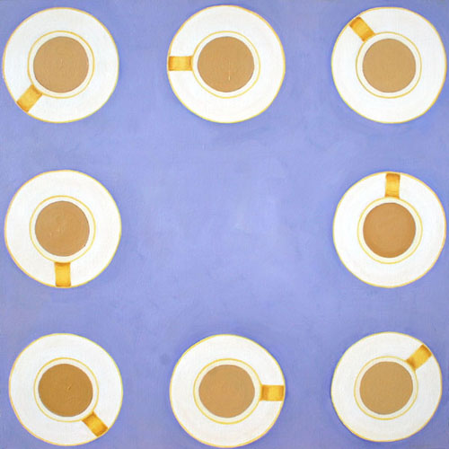 Tea Cups by Courtney Miller Bellairs