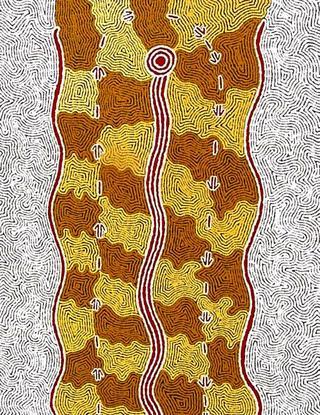 Kangaroo Story by Rachael Jurra Napaltjarri