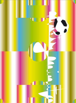 90 Minutes (2006 FIFA World Cup Germany) by Tobias Rehberger