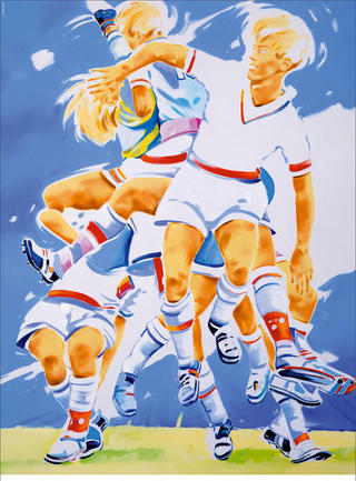 Perfect Match (2006 FIFA World Cup Germany) by Norbert Bisky