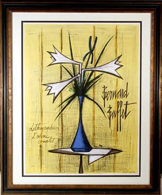 Lithographies by Bernard Buffet