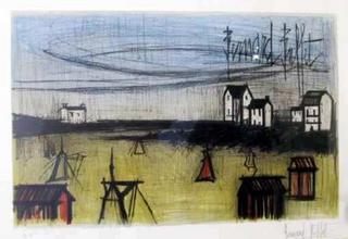 Landscape by Bernard Buffet