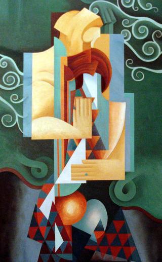 The Couple II by Afshin Naghouni