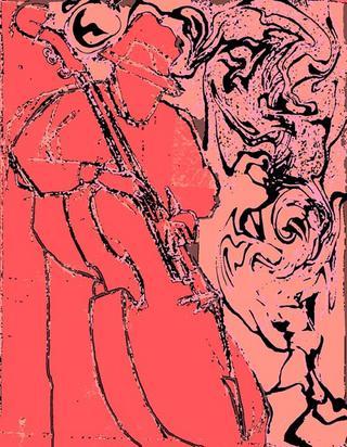 Charles Mingus 3 by Luis Yngüanzo