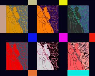Charles Mingus Multiple by Luis Yngüanzo