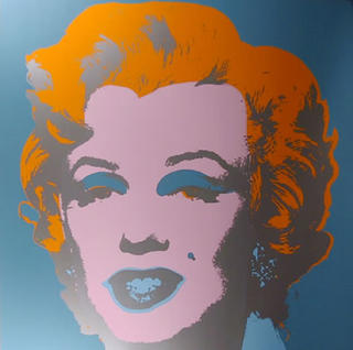 Marylin Monroe 6 by Andy Warhol