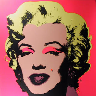 Marylin Monroe 7 by Andy Warhol