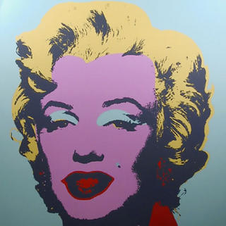 Marylin Monroe 9 by Andy Warhol
