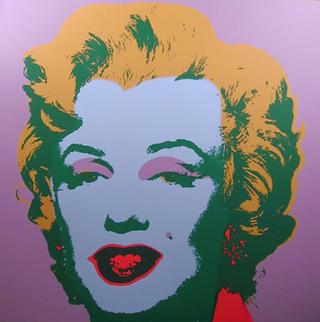 Marylin Monroe 10 by Andy Warhol