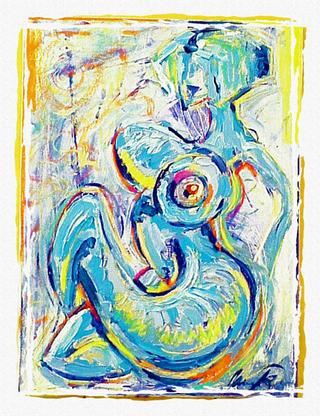 Horiatiki by James Dinverno