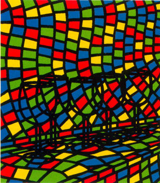 All These Confessions Original Art By Patrick Caulfield