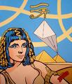 Liz and Pyramids by Cristian Barnes