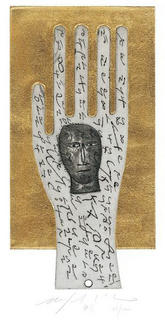 Untitled (Hand) by Mimmo Paladino