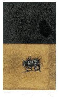 Untitled (Bull) by Mimmo Paladino