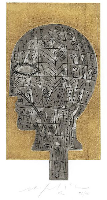 Untitled Head Original Art By Mimmo Paladino Picassomio