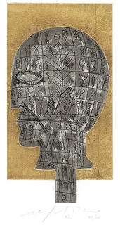 Untitled (Head) by Mimmo Paladino