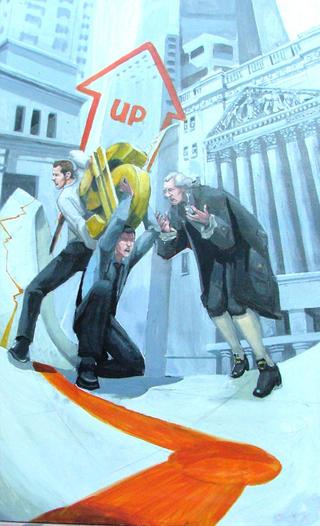 "Up the Capital by Carlos Cenoz Bermejo ""Dino"""
