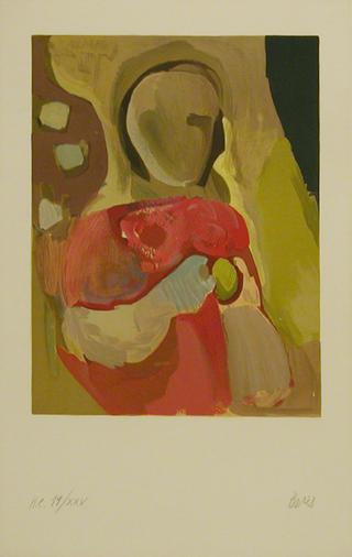 L' Enfant Rouge by Francisco Bores