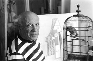 Pablo Picasso, Villa la Californie, Cannes by René Burri