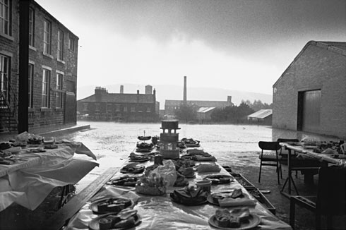 Jubilee Street Party, Elland, Yorkshire (From 'Bad Weather') by Martin Parr