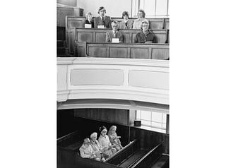 Steep Lane Baptist Chapel, Yorkshire, (from 'The Nonconformists') by Martin Parr