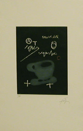La Tasse à Café by Antoni Tàpies