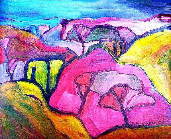 Valley by Oscar Gagliano
