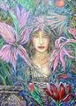 Blue Fairy by Christa Oglan