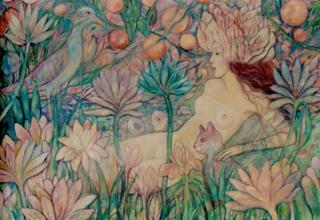 Odalisque by Christa Oglan