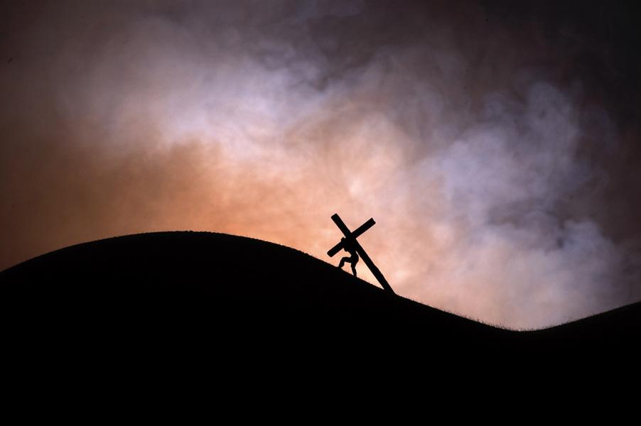 Crucifiction 1 Original Art By Paul Conroy Picassomio