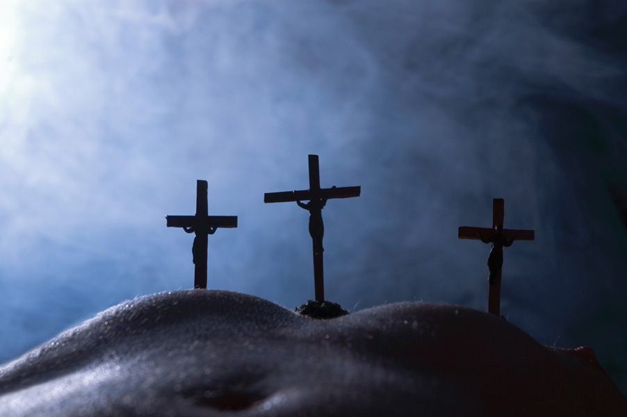 Crucifiction 2 by Paul Conroy