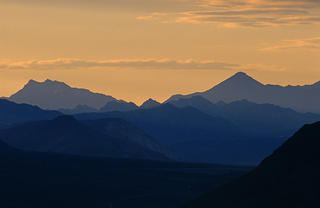 Mountain Sunset by Thomas Sbampato