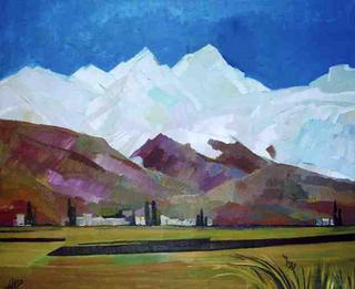 Alagyas Mountains by Irina Alaverdova