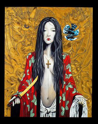 Madame Butterfly by Enrique García Lozano