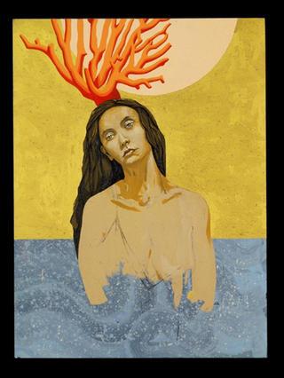 Coral Lady by Enrique García Lozano