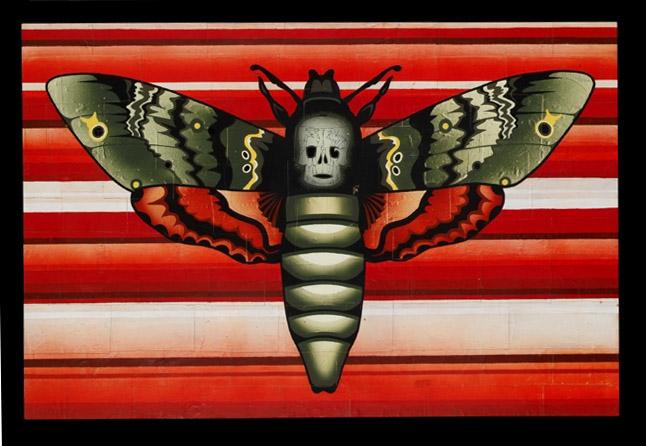 Death Moth by Enrique García Lozano