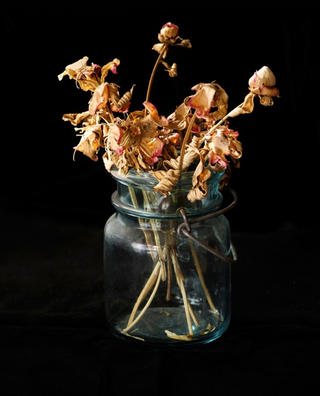 Still Life with Jar by Gamini Kumara