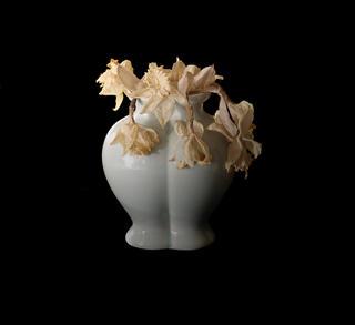 Yellow Flowers by Gamini Kumara
