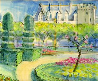 Villandry Chateaux of the Loire by June Lisle