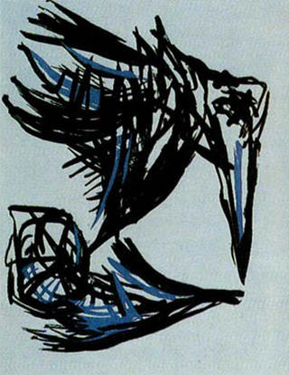 The Birds by Karel Appel