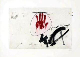 Ma by Antoni Tàpies