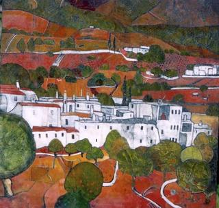 Mountain Village Alpujarras by Rana Jennifer Rodger