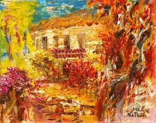 Autumn in Renoir's Garden by Van Duong Thanh