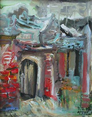 Old Gate by Van Duong Thanh