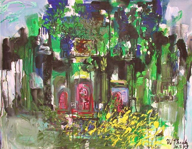 Temple in Spring by Van Duong Thanh