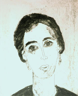 Portrait XIII - Virginia Woolf by Gloria Ducás